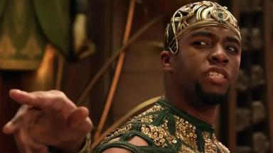 Chadwick Boseman em Deus do Egito