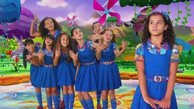 As meninas da novela Chiquititas juntas em cena no SBT