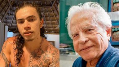 Cid Moreira comentou sobre a morte de sua filha ao falar sobre Whindersson Nunes