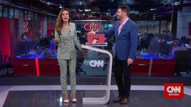 Evaristo Costa e Monalisa Perrone na CNN Brasil