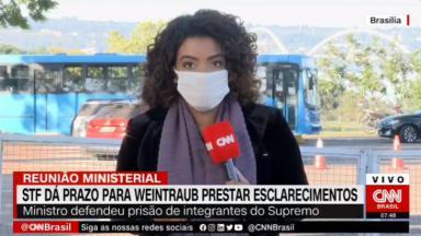 A repórter Julliana Lopes da CNN Brasil