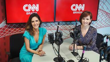 Monalisa Perrone e Thais Herédia nos estúdios da CNN Brasil