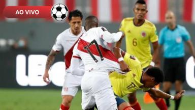 Colômbia x Peru