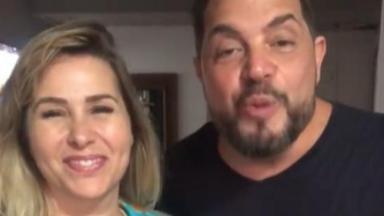 Sorvetão e Conrado falando em vídeo