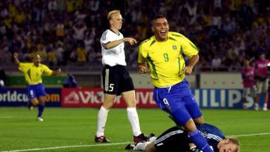 Ronaldo Fenômeno na Copa de 2002