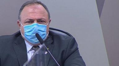 Eduardo Pazuello na CPI da Covid
