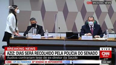 Omar Aziz deu voz de prisão para Roberto Dias