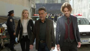 """Cena da série """"Criminal Minds"""""""