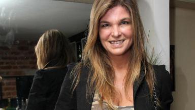 Cristiana Oliveira sorrindo