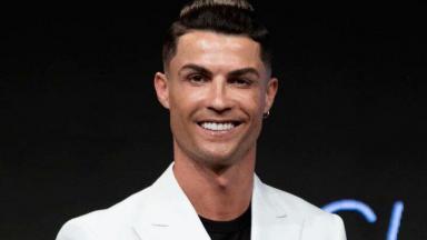 Cristiano Ronaldo posado para foto