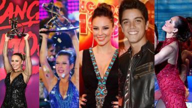 Vencedores da Dança dos Famosos