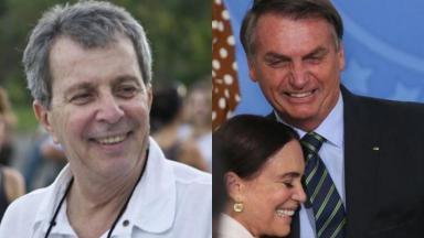 Daniel Filho, Regina Duarte e Jair Bolsonaro