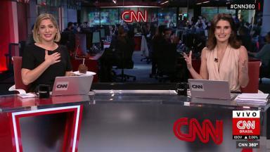 Daniela Lima se emociona com festa de aniversário surpresa na CNN Brasil