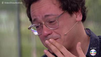 Danton Mello chorando