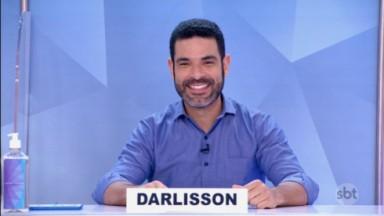 Darlisson Dutra no Jogo dos pontinhos do Programa Silvio Santos
