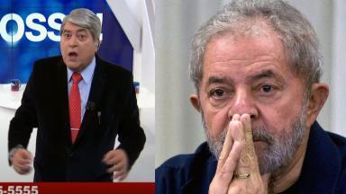 Datena no Brasil Urgente; Lula preocupado