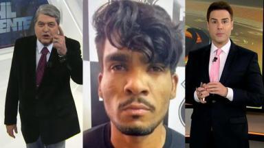Datena no Brasil Urgente; Lázaro na Polícia; Luiz Bacci no Cidade Alerta