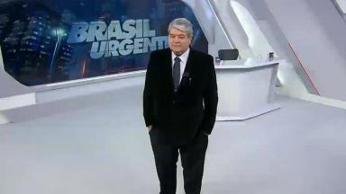 José Luiz Datena no Brasil Urgente desta terça-feira