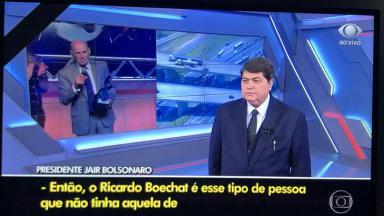 """Jornal Nacional"" exibe trecho do ""Brasil Urgente"""
