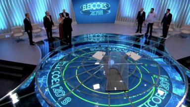 Candidatos a presidência de 2018 no debate da Globo