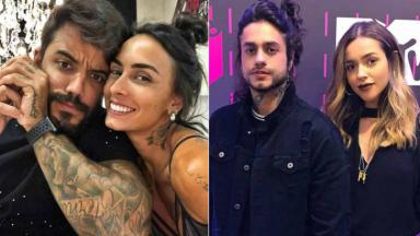 André Coelho, Clara Maia, Thiago Consani e Gabi Domingues