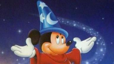 Mickey no filme Fantasia