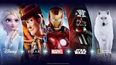 Disney+ concentrará produções Disney, Pixar, Marvel, Star Wars e National Geographic