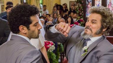 Briga feia no casamento de Marocas