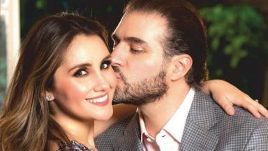 Dulce Maria e seu marido