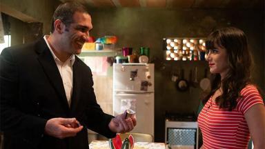 Duplex (Miguel Nader) e Furacão (Dani Moreno) em Amor Sem Igual