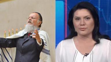 Edir Macedo e Ellen Ferreira