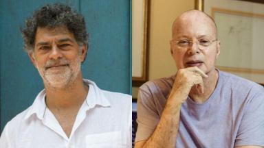 Eduardo Moscovis e Gilberto Braga