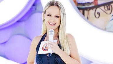 A apresentadora Eliana
