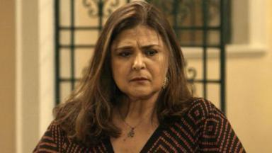Elizângela em cena de A Força do Querer, atualmente em reprise na Globo