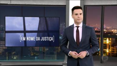 Luiz Bacci no comando do Em Nome da Justiça