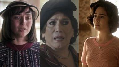 Simone Sploradore, Susana Vieira e Giullia Buscacio em Éramos Seis