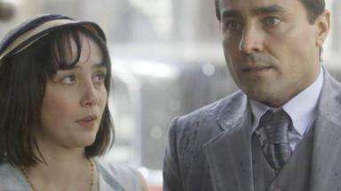Almeida descobrirá que tem um filho com Clotilde na novela Éramos Seis