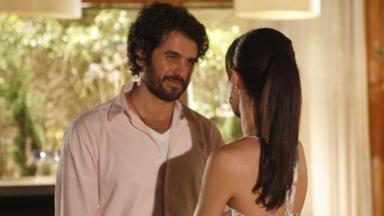 Eriberto Leão em cena da novela A Vida da Gente, em reprise na Globo