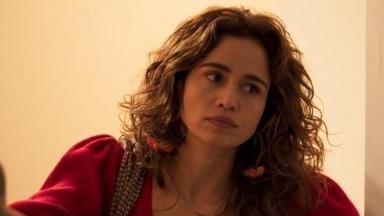 Nanda Costa em cena da novela Amor de Mãe, na Globo