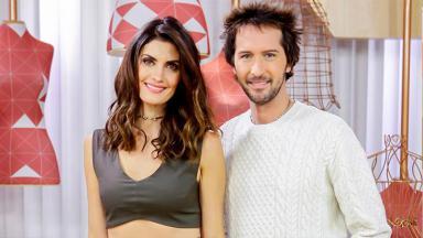 Arlindo Grund e Isabella Fiorentino