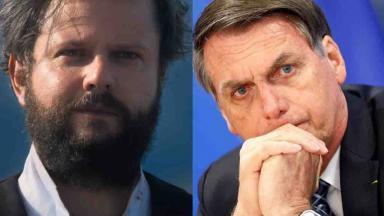 Pedro II confiante; Bolsonaro preocupado