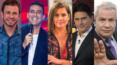 Imagem dos cinco que programas que estreiam no verão