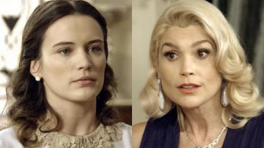 Bianca Bin e Flávia Alessandra como Maria e Sandra em cena de Êta Mundo Bom
