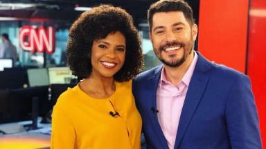Evaristo Costa e Luciana Barreto