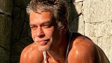 Fábio Assunção exibe boa forma em foto após perder 27kg em cinco meses