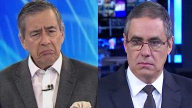 Paulo Henrique Amorim e Fábio Pannunzio