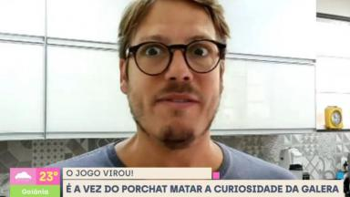 Fábio Porchat em entrevista ao Se Joga