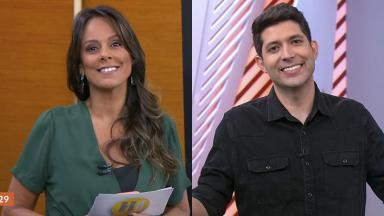 Os repórteres Fabiola Andrade e Caio Maciel são promovidos na Globo