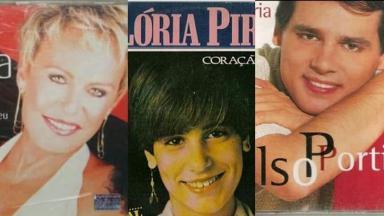 ana Maria Braga, Glória Pires e Celso Portiolli