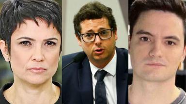 Sandra Annenberg e Felipe Neto comentaram a CPI da Covid